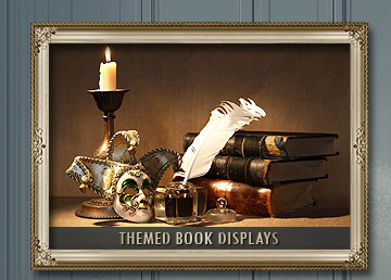 Books for Themed Displays.